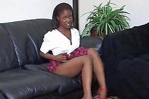 Ebony Schoolgirl Turns Into A Hot Masturbation Teacher Drtuber