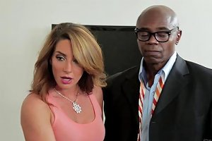 He Watches His Wife Cum All Over A Black Guy's Big Cock Any Porn