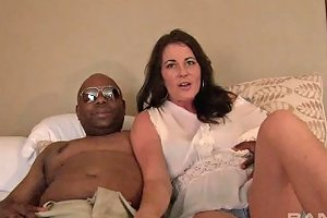 Vivacious Cougar With Big Tits Sucking A Huge Black Cock Any Porn