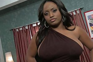 A Sexy Curvy Black Girl Gets Her Fill Of Hard White Cock Any Porn